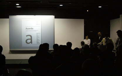 Acorde wins the <i>Grand Prize</i> of <i>Applied Typography 21</i>