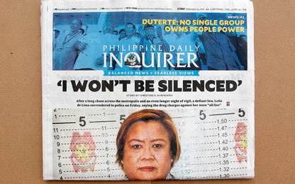 That's how Sindelar is applied in the <i>Philippine Daily Inquirer</i>