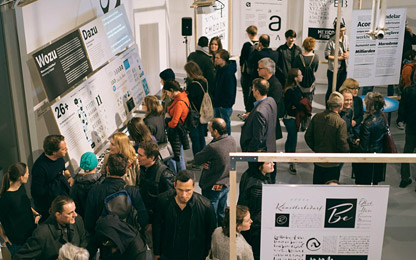 Austrian design exhibition <i>Subtext: Typedesign</i> in Vienna